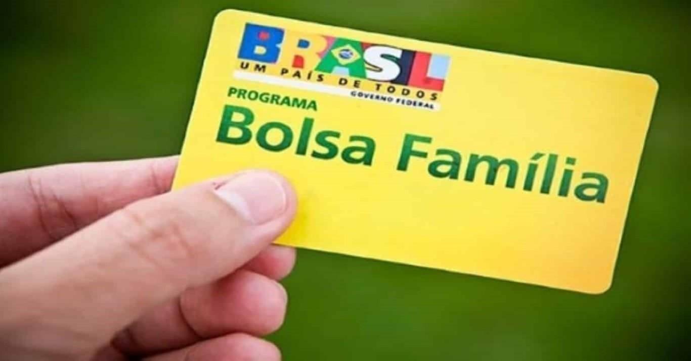 Foto ilustrativa do cartão do Bolsa Família