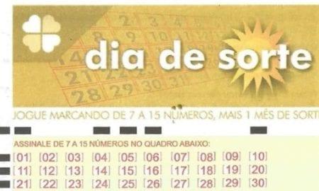 Dia de Sorte Mega-Sena Loterias Caixa