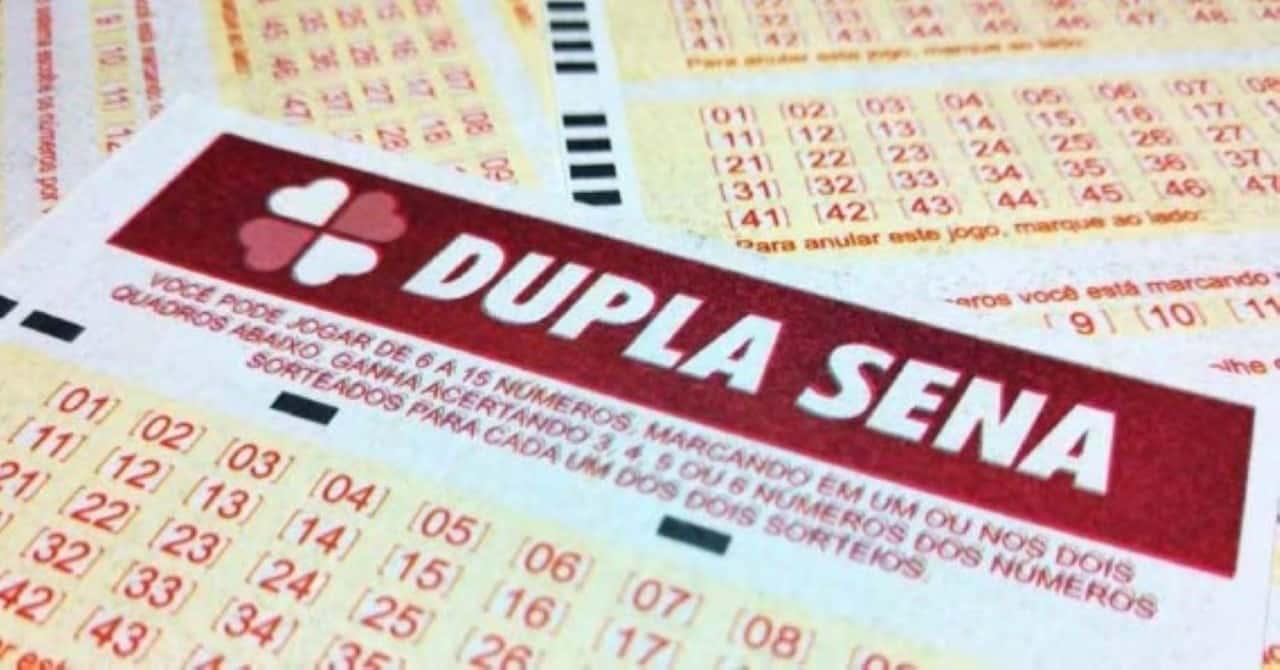 Dupla sena Sorteio Mega-Sena Loterias Caixa