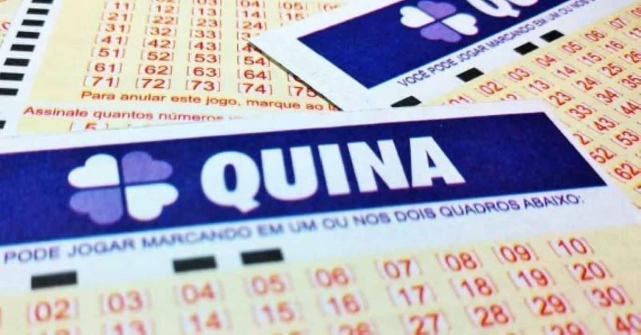 Quina Loterias Caixa Sorteio Prêmio Concurso