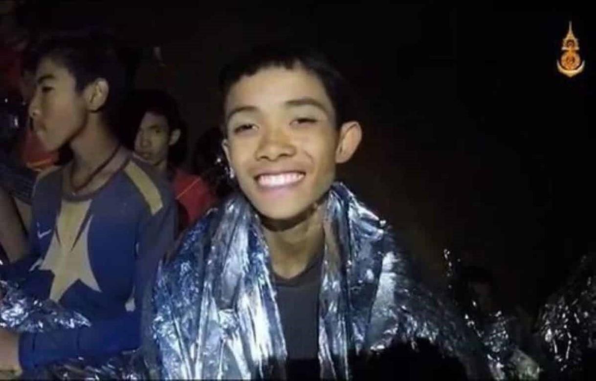 Crianças são encontradas com vida em caverna na Tailândia - EFE /ROYAL THAI NAVY /Apenas uso editorial/Direitos Reservados