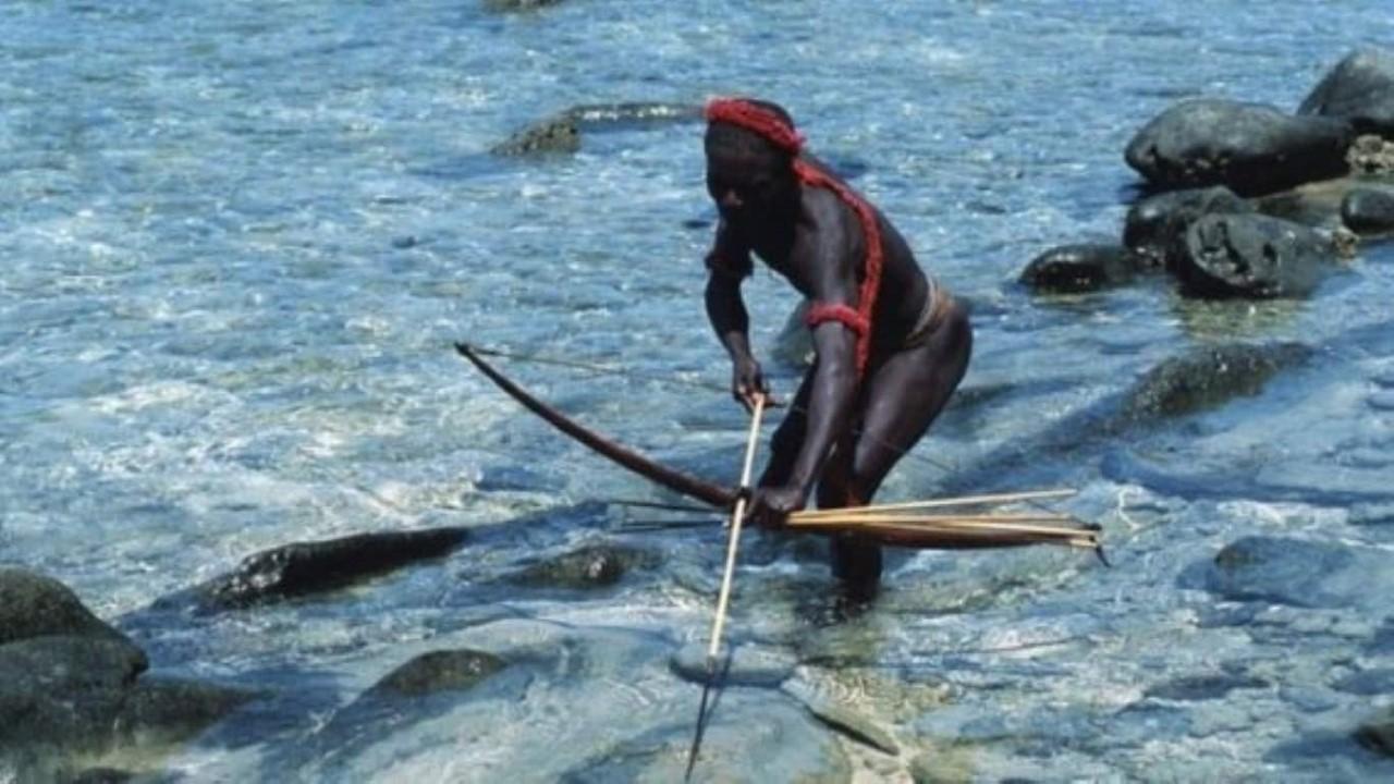 Sentinela: como vive a tribo isolada da Índia que matou um jovem aventureiro americano com flechas Foto: Getty Images/BBC