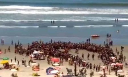 Trabalhador que entregou atestado e postou foto na praia é multado em R$ 500
