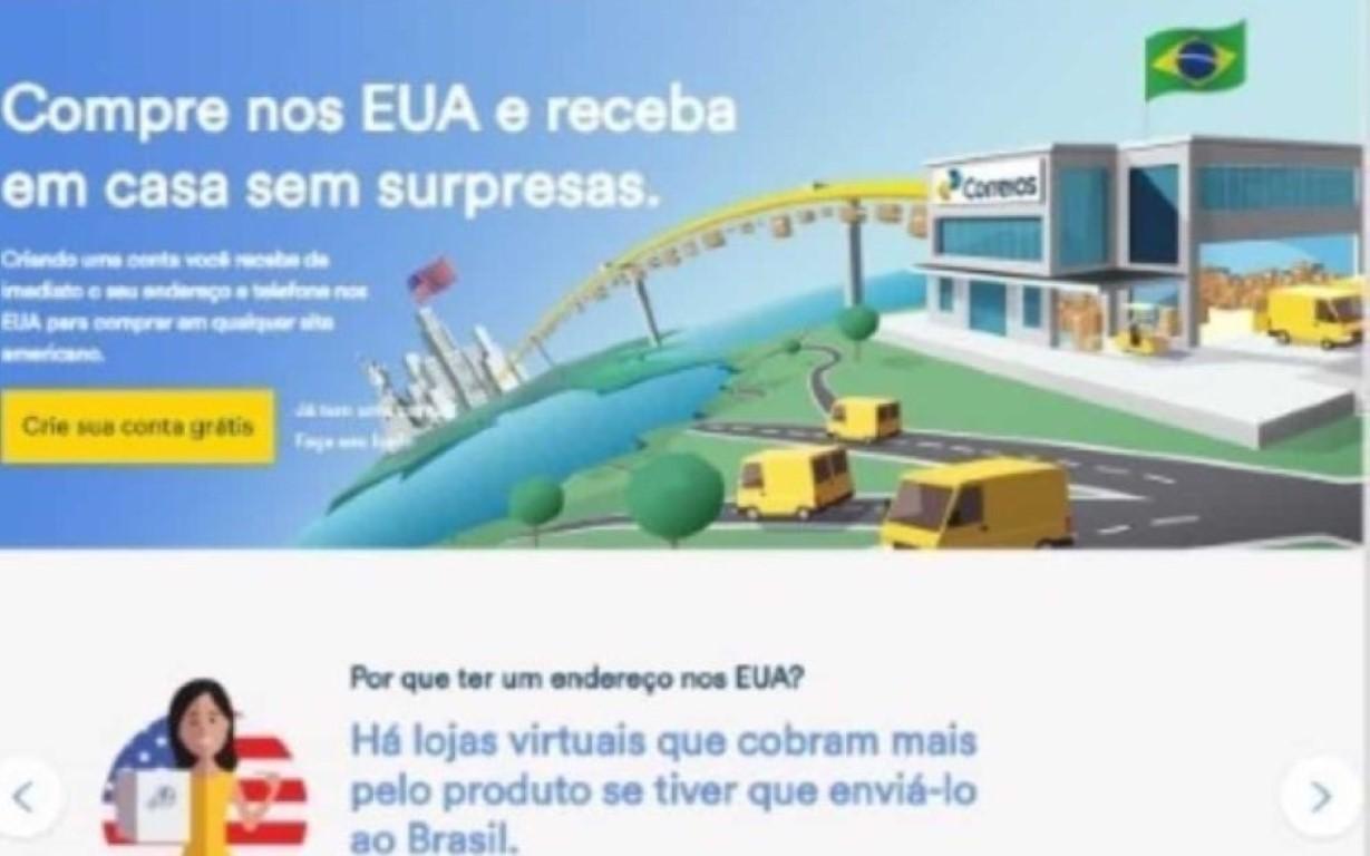 Correios lançam ferramenta que traz produtos importados dos EUA para o Brasil