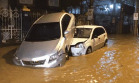 Chega a 11 o número de mortos pelas fortes chuvas na Baixada Santista