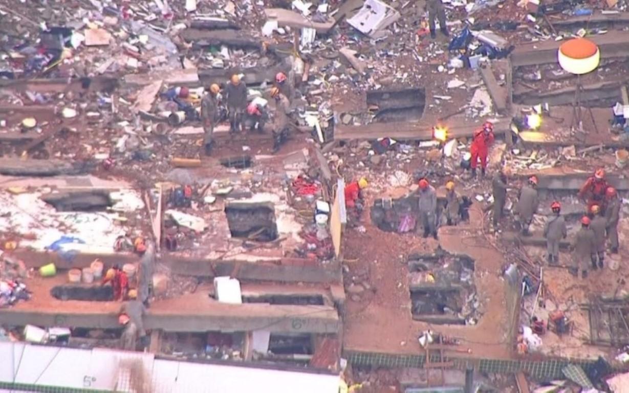Prefeitura vai demolir prédios na Muzema quando resgate acabar.