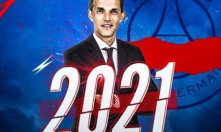 Paris Saint-Germain anuncia renovação de contrato com o técnico Thomas Tuchel.