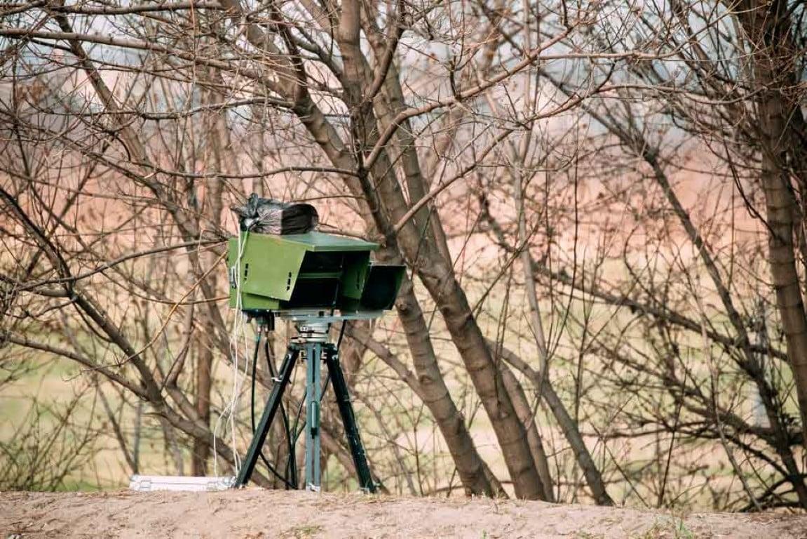 Uso de radares móveis