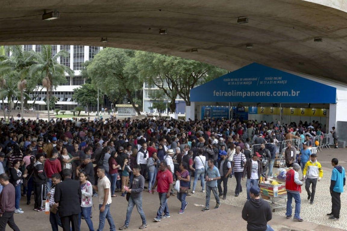 Feirão Limpa Nome do Serasa com descontos de até 98% para renegociar dívidas