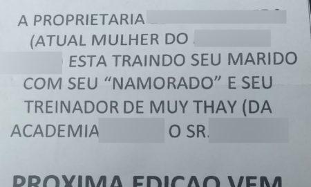 Bilhetes anônimos com acusação de adultério tomam conta de cidade no interior de SP