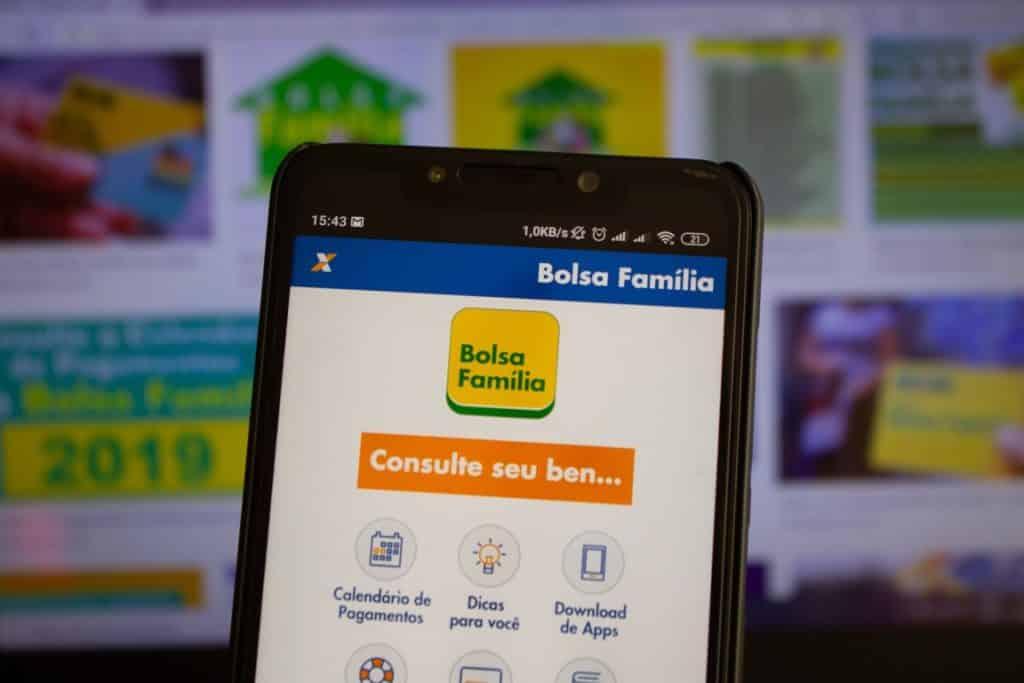 Aplicativo do bolsa família e auxílio emergencial