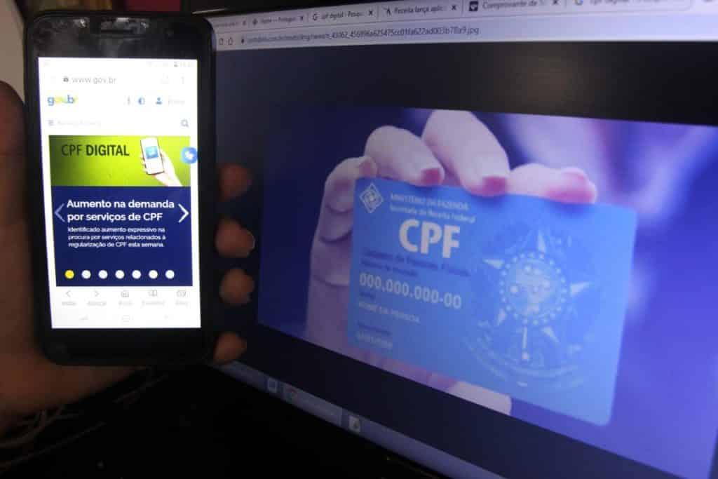 CPF Digital Receita